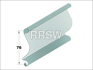 Curved Perforated Slats