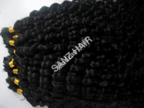 Remy Natural Black Bulk Hair