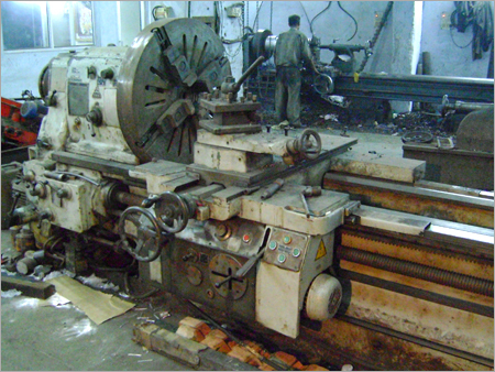 Our Lathe Machinery