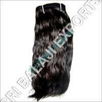 Machine Weft Human Hair wavy