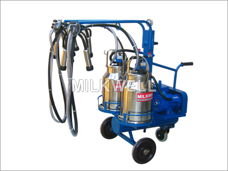 Two Bucket Portable Milking Machine