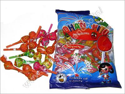 Mixed Fruit Lollipops