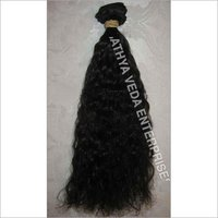 Remy Machine Weft Curly Hair