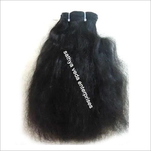 Remy Machine Weft Wavy Hair
