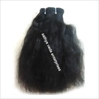 Remy Machine Weft Wavy Hair