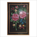 Reshami Flower Wall painting