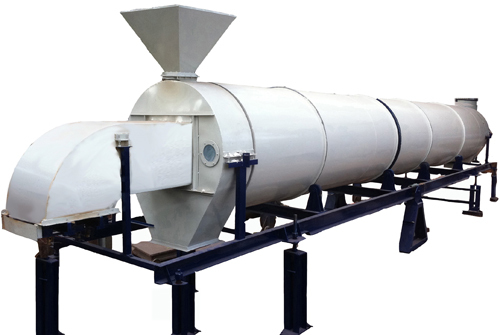 Continuous Rotary Dryer / Roaster