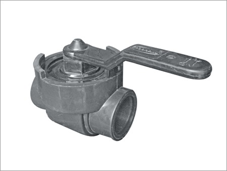 One Piece PP Ball Valve