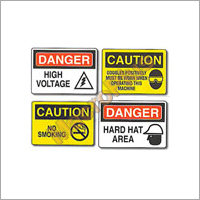 Safety & Cautionary Signs