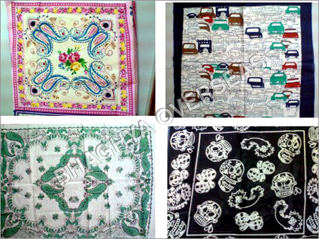 Indian Printed Hankies