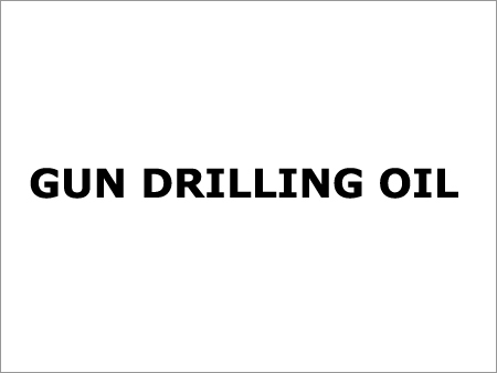 Gun Drilling Oil