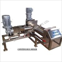 Stainless Steel Continuous Mixer