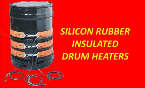 Silicon Rubber Insuleted Drum heaters