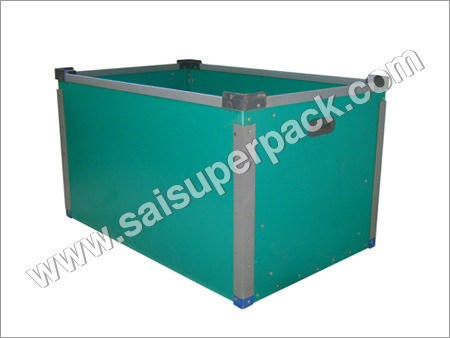 Reinforced PP Bin For Heavy Articles