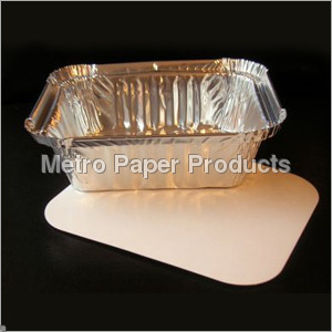 Paper Lids For Foil Container