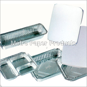 Silver Disposable Trays
