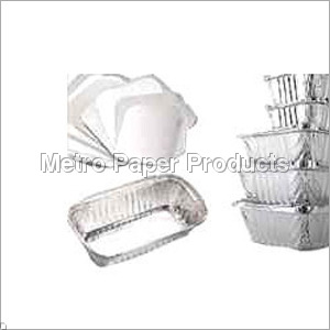 Paper Lids For Foil Containers