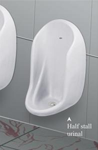 Half stall Urinals