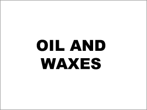 Oil and Waxes