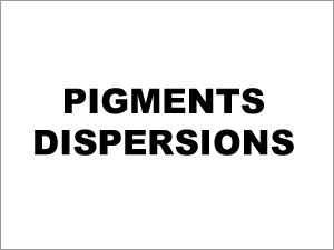 Pigments Dispersions chemical