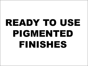 Finishes Pigments