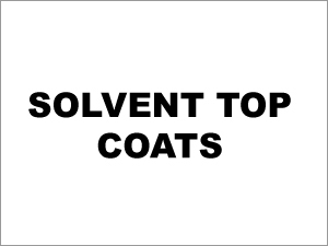 Solvent Based Topcoats