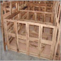 Open Wooden Crates