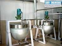 Tilting Type Steam Jacketed Kettles