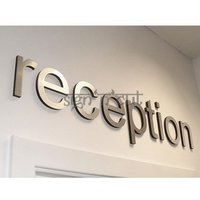 Acrylic Reception Signage