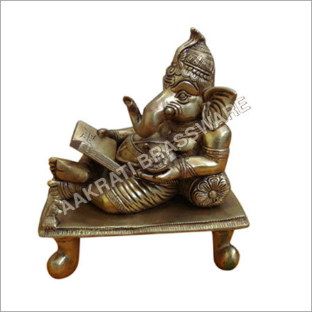 Lord Ganesha Statue made in Brass Metal