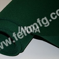 Dark Green Colour Felt