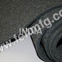 Dark Gray Colour Felt