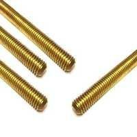 Brass Threaded Stud