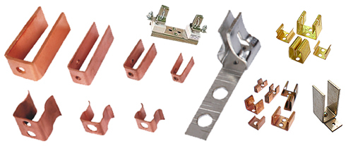 Copper and Brass Sheet Metal Components