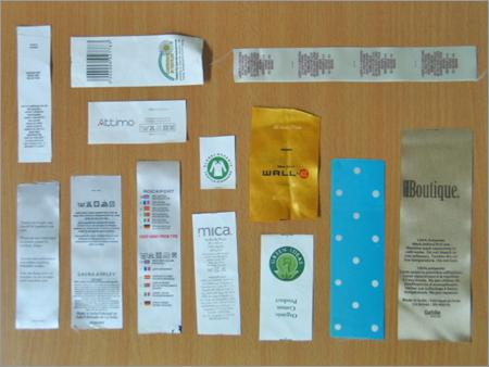 Screen Printed Labels