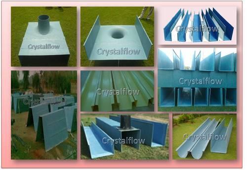 Industrial FRP Rainwater Gutter System