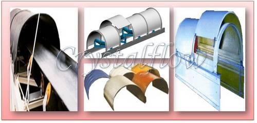 Conveyor Belt Roof Cover System