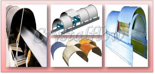 Conveyor Belt Roof Cover System