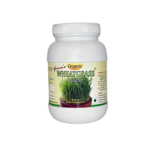 Wheatgrass Powder Bottle