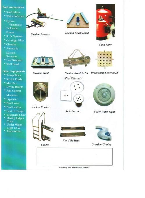 Pool Accessories Catalog
