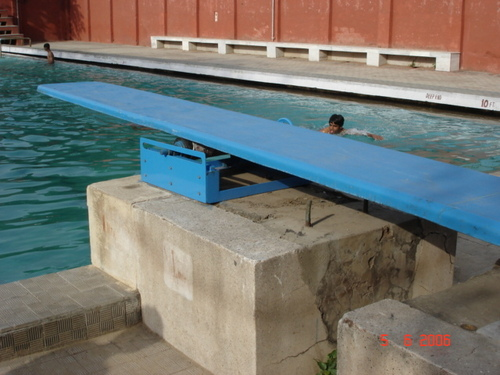 Fibreglass Laminated Diving Board