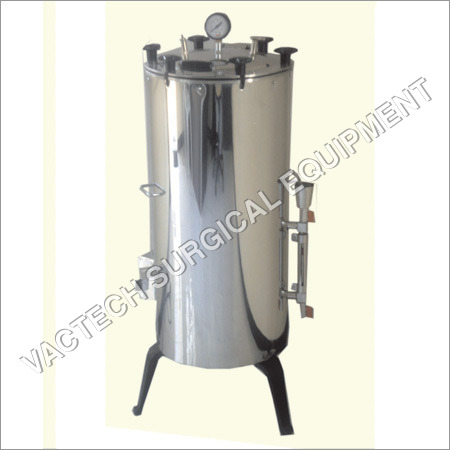 Double Drum Vertical Autoclave