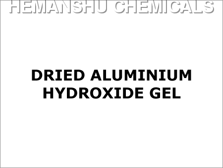 Dried Aluminium Hydroxide Gel