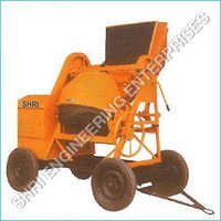Concrete Mixer Machine with Hopper<