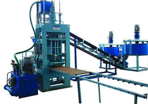 Vibro Press Fly Ash Bricks Making Plant
