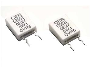 Ceramic Encased Vertical Flat Resistors