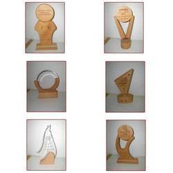 Natural Wooden Trophies