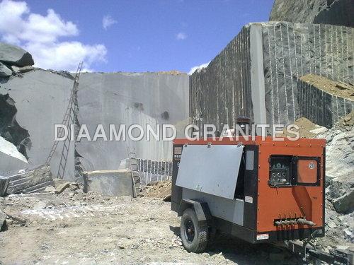 Mines of Absolute Black Granite