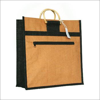 Zip Jute Shopping Bags