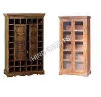 Antique Finish Wooden Almirah